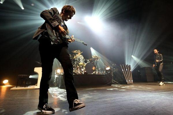 Le groupe britannique Muse a livré un concert exceptionnel à l'Olympia.