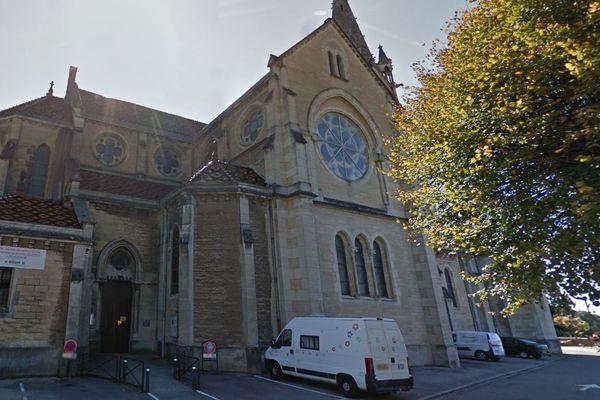L'église Notre-Dame-de-l'Assomption à la Tour-du-Pin