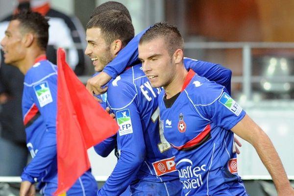 Les Niçois, qui jouaient en bleu, empochent leur place en 8ème de final.