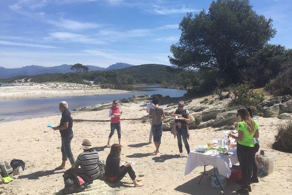 Agents de voyage italiens et tour operators venus de l'île d'Elbe, à la découverte des plages et des savoir-faire de de Corse durant cinq jours