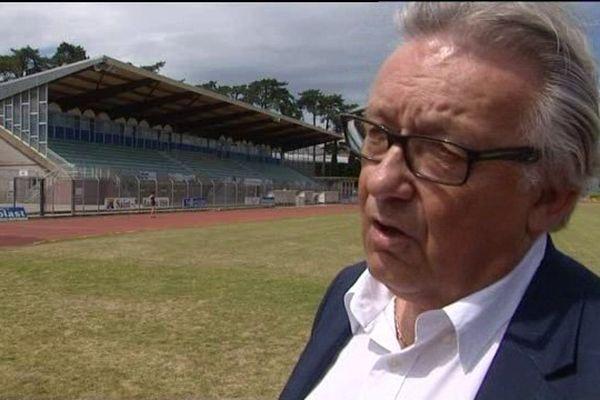Gérard Gohel, président de l'AS Cherbourg, avait lancé en juin dernier un appel aux dons pour maintenir le club en CFA