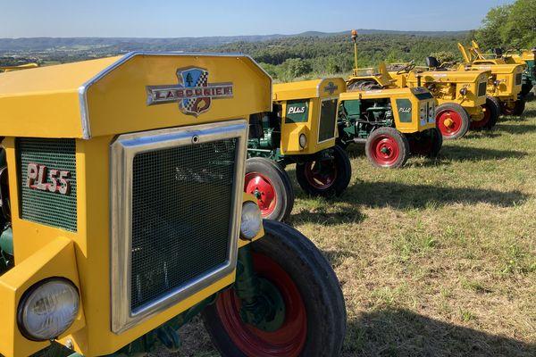 A Mouchard, le Jurassien Labourier a produit des milliers de tracteurs jusqu'à la fin des années 70