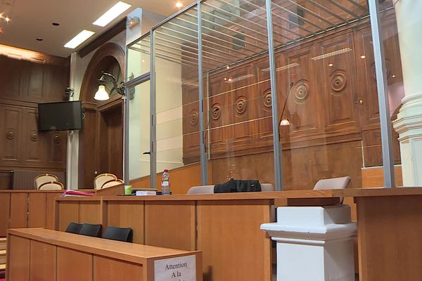 La cour d'assises du Gard, le 4 juin 2021.