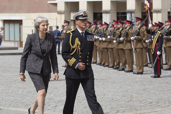 Le 8 août 2018, Theresa May avait assisté au centenaire de la bataille d'Amiens, célébré dans la cathédrale de la capitale picarde.