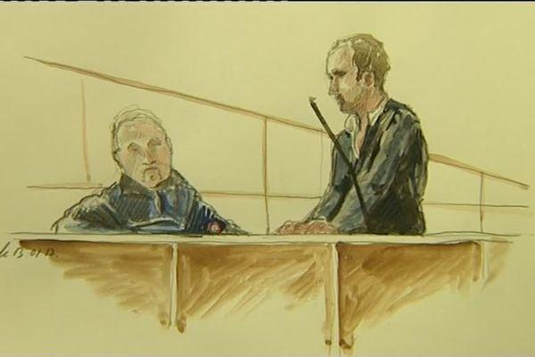 Condamné à 25 ans en première instance, Raphaël Dogimi espère une peine moins importante.