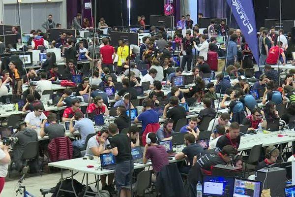 Des milliers de personnes sont attendues tout le week-end à l'Arena de Montpellier. 600 équipes s'affrontent dans cette compétition de jeux vidéo