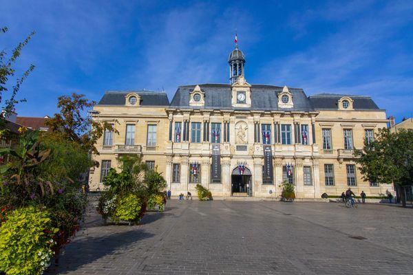 L'hôtel de ville de Troyes, en octobre 2020.