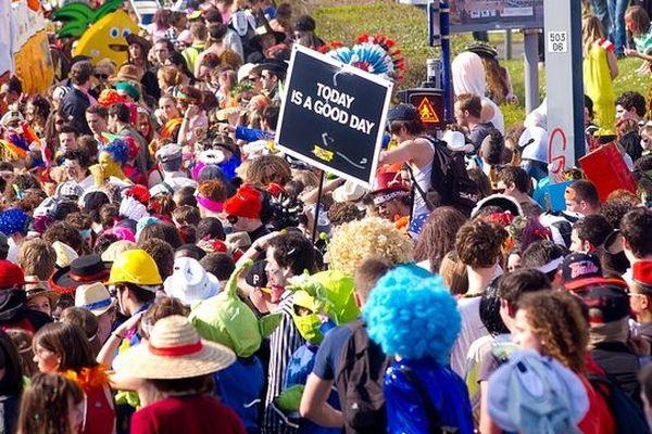Le Carnaval des étudiants de Caen 2012