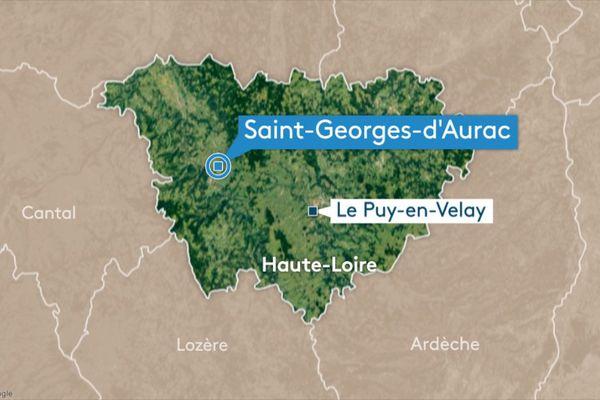Dans la nuit du samedi 11 au dimanche 12 janvier, un incendie s'est déclaré dans une maison de 120m2 à Saint-Georges-d'Aurac en Haute-Loire.