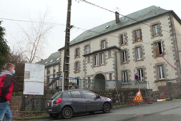 Réhabilitation de l'ancienne gendarmerie d'Ussel en logements sociaux