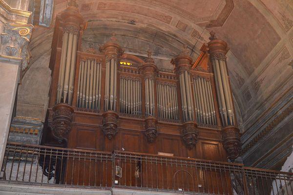 L'orgue de l'église sera également restauré.