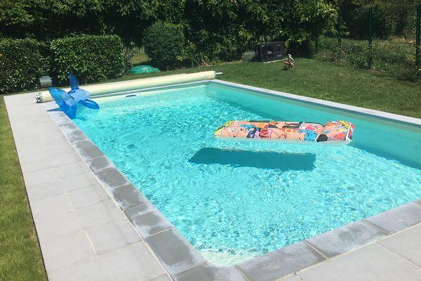 La demande pour des piscines est en forte hausse.
