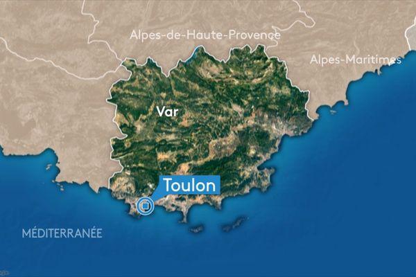 L'accident a eu lieu près de Toulon, dans le Var.