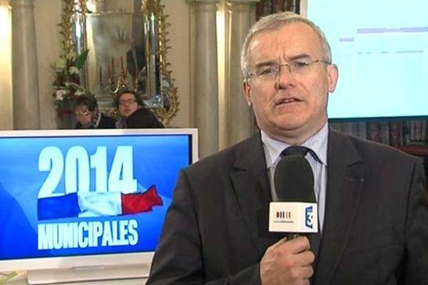 Michel Dantin en tête au premier tour des Municipales à Chambéry