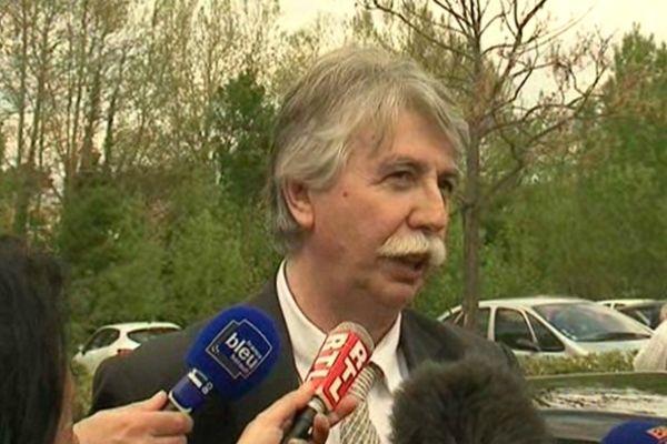 Le maire de Castelnaudary Patrick Maugard