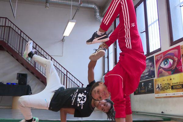 Sya et Damani Dembélé, breakdanceurs, pré-sélectionnés en Equipe de France pour les JO 2024