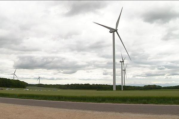 165 éoliennes devraient voir le jour en Bourgogne dans les années à venir.