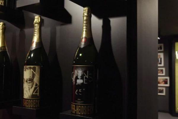 Près de 8.500 flûtes de champagne Piper-Heidsieck seront servies aux Oscars / Reims, février 2018