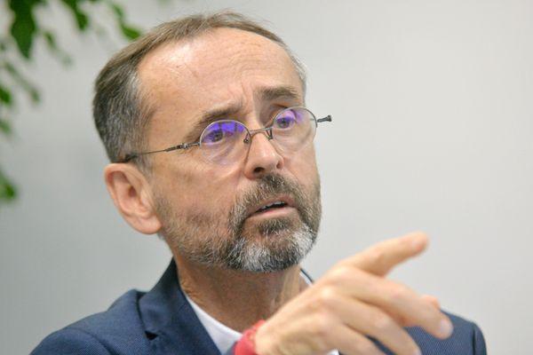Robert Ménard, le maire de Béziers, le 8 janvier 2021
