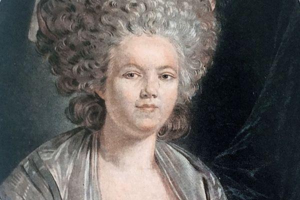 Portrait de Mademoiselle Bertin dite Rose Bertin gravé par Jean-François Janinet