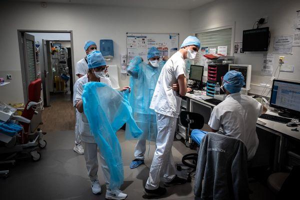 92 patients sont toujours hospitalisés en Corse en raison d'une infection au Covid19. 16 d'entre eux sont en réanimation ou en soins intensifs.
