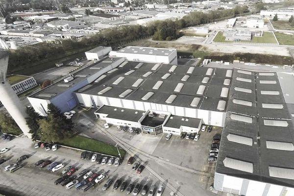 Le site de Pinette PEI à Chalon-sur-Saône.