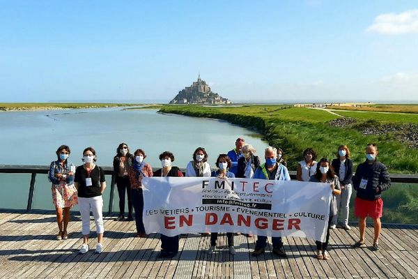 """Les guides conférenciers du Mont Saint Michel s'associent à d'autres professionnels du tourisme, de l'événementiel et du tourisme, """"pour ne pas rester invisibles"""""""
