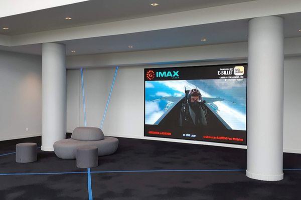 Le complexe du Gaumont Parc Millésime comporte une salle Imax.