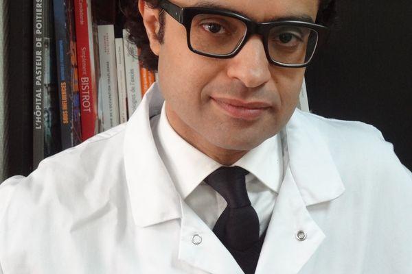 Le professeurAmine Benyamina, psychiatre-addictologue au sein de l'hôpital Paul-Brouce, à Villejuif (Val-de-Marne).