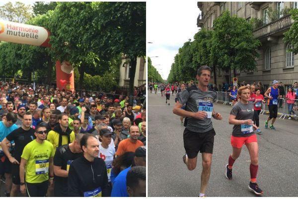 3.700 coureurs ont pris part ce dimanche 12 mai 2019 au 10km des courses de Strasbourg.