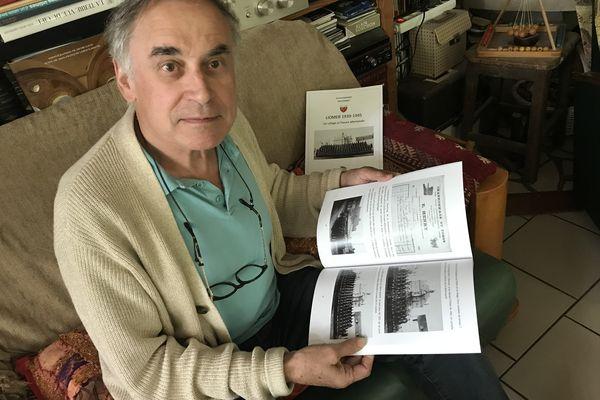 """Jean-Paul Baronnet, co-auteur du livre """"Liomer 1939-1945. Un village à l'heure allemande"""""""