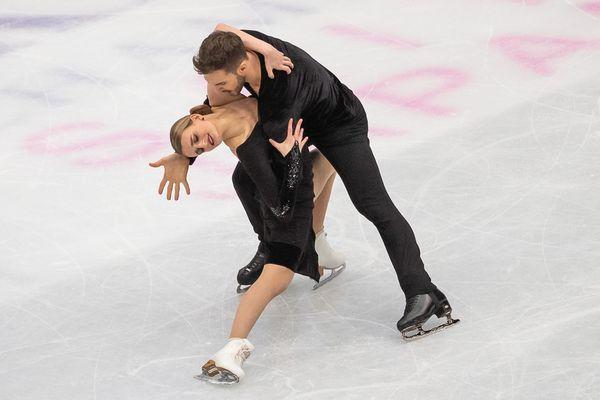 Les Clermontois Gabriella Papadakis et Guillaume Cizeron ont explosé leur record du monde en danse rythmique jeudi 21 mars.