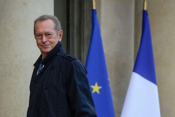 Dominique Baudis arrive au palais de l'Elysée pour l'allocution du président de la République pour le lancement des commémorations du Centenaire de la Premiere guerre mondiale, le 7 novembre 2013
