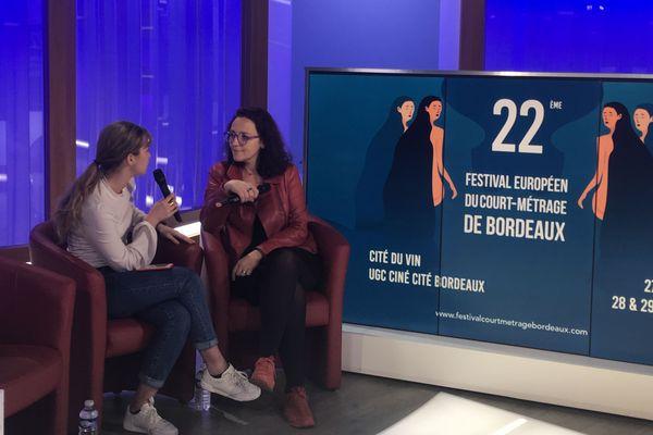 Itw d'Estelle Laurent-Dulac, jury France 3 du festival européen du Court Métrage de Bordeaux