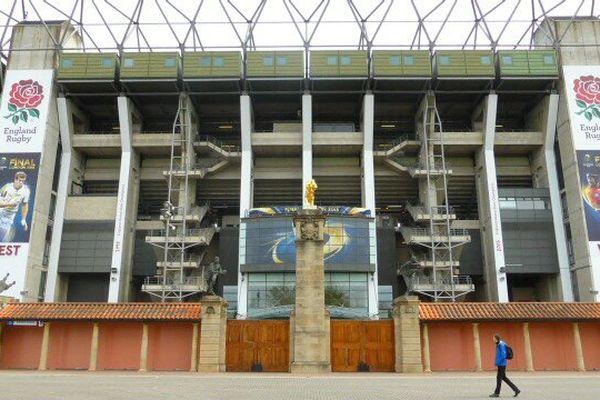 Le stade de Twickenham (Royaume-Uni) est prêt à accueillir le choc entre l'ASM et le RCT.