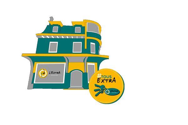 """""""Un lieu ordinaire, tenu par des gens extraordinaires"""", telle est la devise du restaurant inclusif l'Extra qui va s'installer dans le quartier Boulingrin de Reims."""