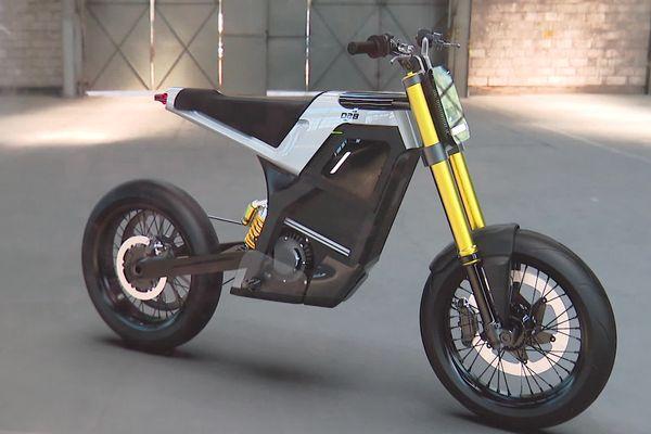 Le projet très futuriste de moto électrique de DAB Motors