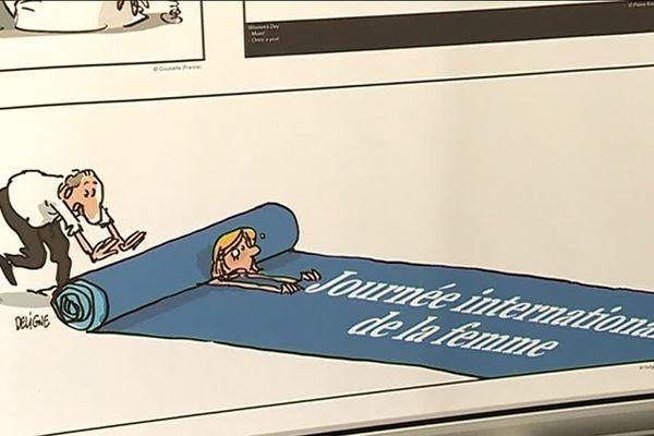 Une exposition sur les droits de la femme