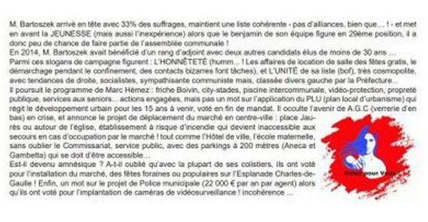 Extrait du bulletin municipal Aniche Actu n°22 du 22 juin 2020.