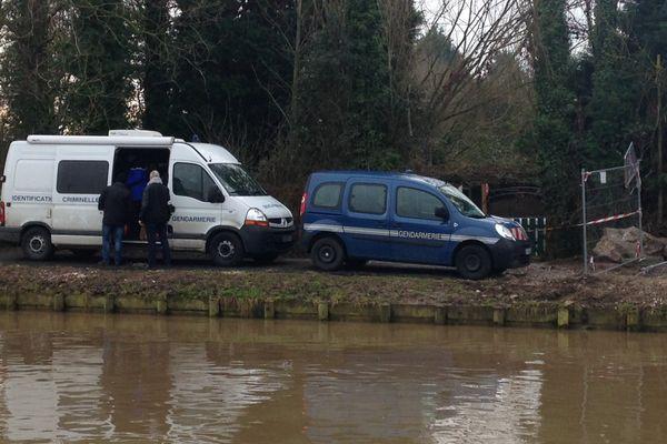 L'enfant a été retrouvé route de Merville à Aire-sur-la-Lys.