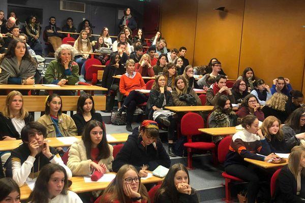 Rencontre au Lycée Auguste et Jean Renoir à Angers