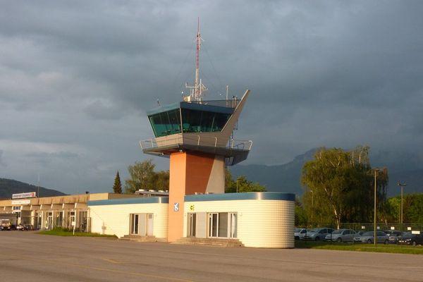 L'aéroport d'Annecy (image d'illustration)