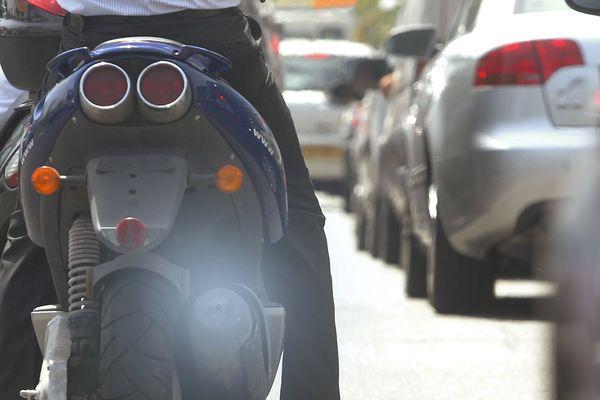 La pollution à l'ozone se voit parfois, pas toujours