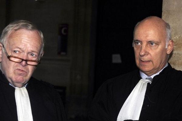 Olivier Metzner, l'avocat pénaliste disparu brutalement, ici à gauche de la photo