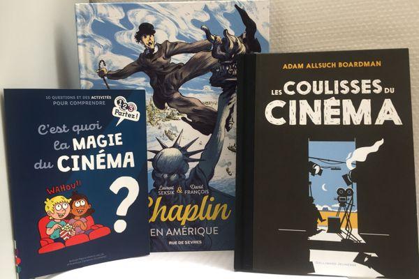 4 livres pour parcourir l'historie du cinéma avec vos enfants