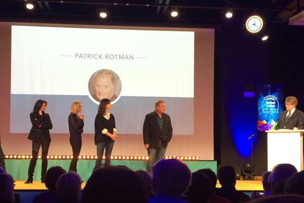 Patrick Rotman et le jury documentaire lors de la soirée d'ouverture du 21ème Festival de Luchon