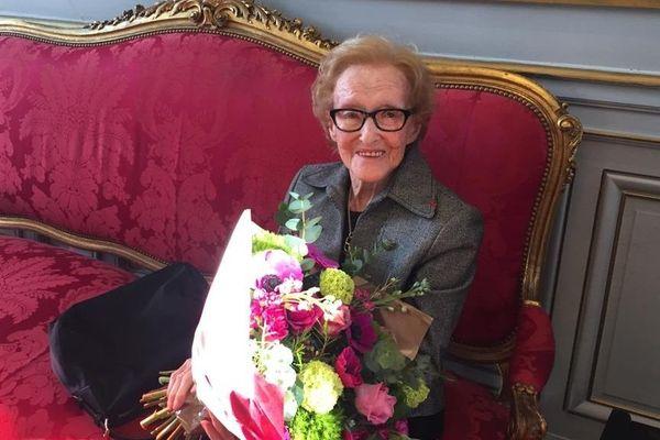 Geneviève Dumas-Baudis au Capitole le 12 avril 2019