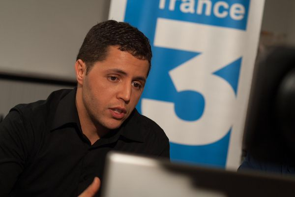Ahmed Chouki durant le vidéo-chat