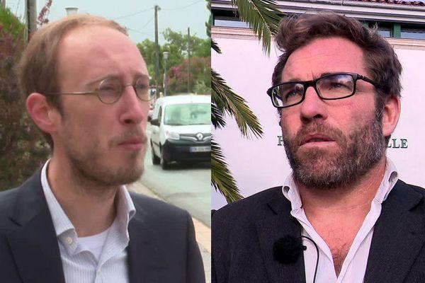 Thibault Brechkoff et Grégory Gendre