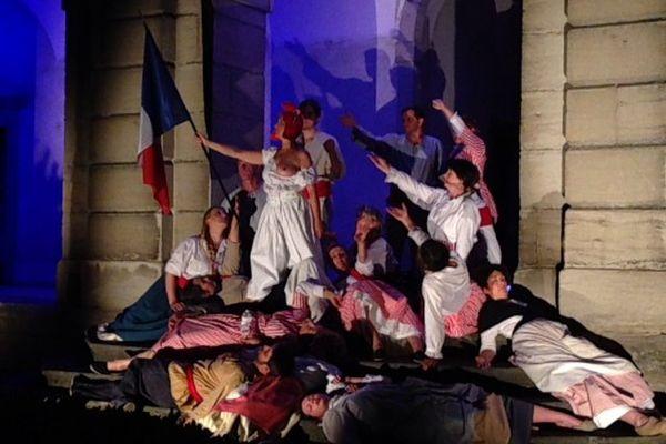 Lons-le-Saunier, le spectacle de son et lumière rend hommage à l'auteur de la Marseillaise